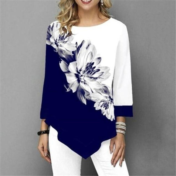 Casual Style Printed Top - Men & women apparel, Women's swimwear, men's shirts and tops, Women jumpsuits and rompers, women spring fashion