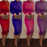 Knee Length Turtleneck Sheath Dress - Men & women apparel, Women's swimwear, men's shirts and tops, Women jumpsuits and rompers, women spring fashion