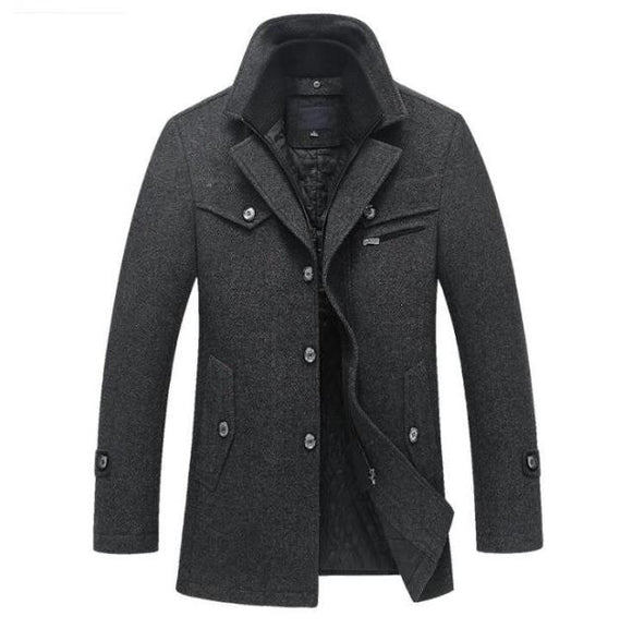 Men's Wool Coat - Men & women apparel, Women's swimwear, men's shirts and tops, Women jumpsuits and rompers, women spring fashion