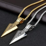 Men's Arrowhead Necklace - Prolyf Styles Men's Arrowhead Necklace, Necklace, Prolyf Styles, ProLyf Styles