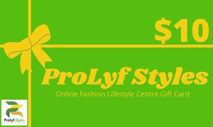 ProLyf Styles Gift Card - Men & women apparel, Women's swimwear, men's shirts and tops, Women jumpsuits and rompers, women spring fashion