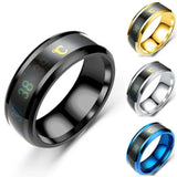 Stainless Steel Smart Ring - Men & women apparel, Women's swimwear, men's shirts and tops, Women jumpsuits and rompers, women spring fashion