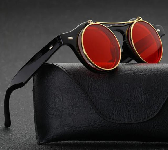 Flip Up Steampunk Sunglasses - Prolyf Styles Flip Up Steampunk Sunglasses, Sunglass, ProLyf Styles, ProLyf Styles