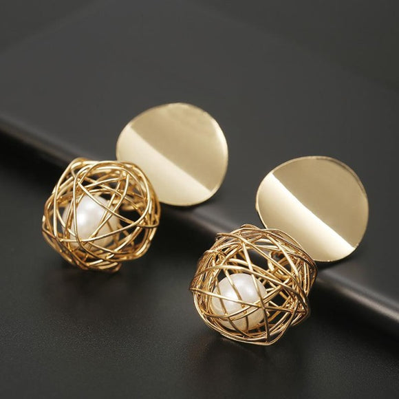 Stylish Geometric Earring - Men & women apparel, Women's swimwear, men's shirts and tops, Women jumpsuits and rompers, women spring fashion