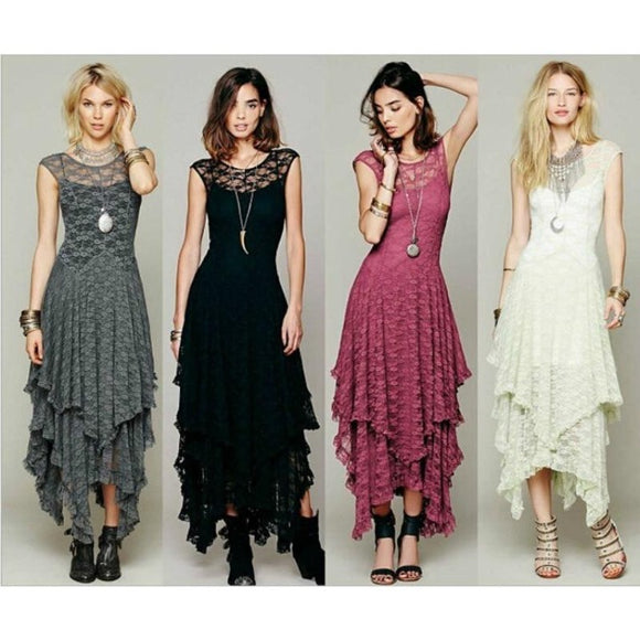 Bohemian Style Long Dress - Men & women apparel, Women's swimwear, men's shirts and tops, Women jumpsuits and rompers, women spring fashion