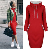 Long Sleeve Bodycon Midi Dress - Prolyf Styles Long Sleeve Bodycon Midi Dress, Dress, Prolyf Styles, ProLyf Styles