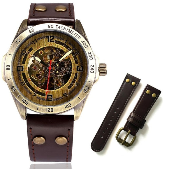 Stainless Steel Mechanical Wristwatch - Prolyf Styles Stainless Steel Mechanical Wristwatch, Watch, Prolyf Styles, ProLyf Styles