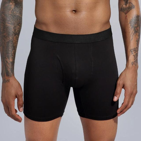 Men's Breathable Long Boxers - Men & women apparel, Women's swimwear, men's shirts and tops, Women jumpsuits and rompers, women spring fashion