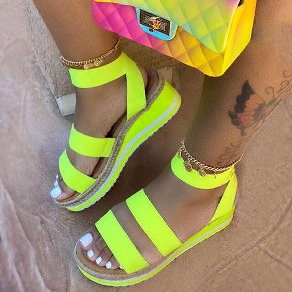 Women Bohemian Wedge Sandals - Men & women apparel, Women's swimwear, men's shirts and tops, Women jumpsuits and rompers, women spring fashion