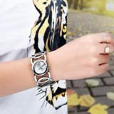 Ladies Circle Design  Wristwatch - Men & women apparel, Women's swimwear, men's shirts and tops, Women jumpsuits and rompers, women spring fashion