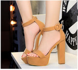 Cover Heel Ankle Wrap High Heel Sandals - Prolyf Styles Cover Heel Ankle Wrap High Heel Sandals, Sandals, Prolyf Styles, Prolyf Styles