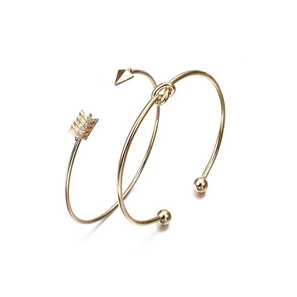 Arrow Knotted Charm Bracelet - Men & women apparel, Women's swimwear, men's shirts and tops, Women jumpsuits and rompers, women spring fashion