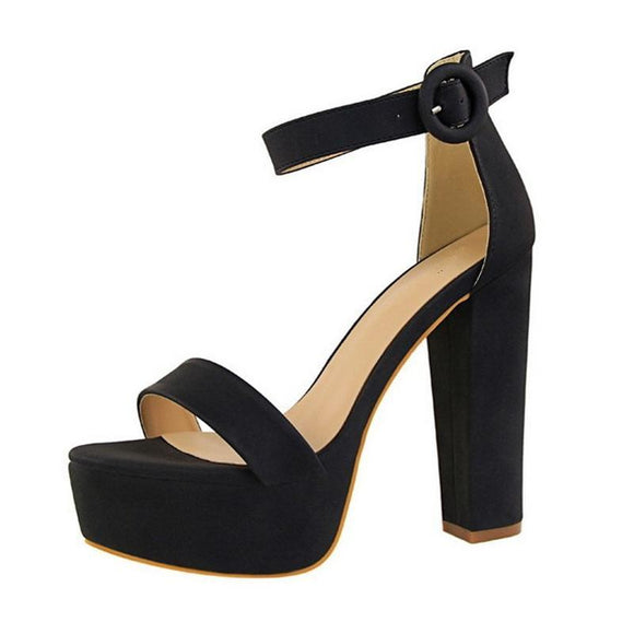 Ankle Wrap High Heel Sandals - Men & women apparel, Women's swimwear, men's shirts and tops, Women jumpsuits and rompers, women spring fashion