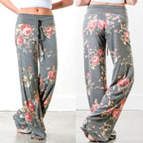 Printed Drawstring High Waist Loose Pants - Prolyf Styles Printed Drawstring High Waist Loose Pants, Pants, ProLyf Styles, ProLyf Styles