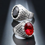 Men's Medieval Silver Ring - Men & women apparel, Women's swimwear, men's shirts and tops, Women jumpsuits and rompers, women spring fashion