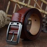 Cowhide Genuine Leather Belt - Men & women apparel, Women's swimwear, men's shirts and tops, Women jumpsuits and rompers, women spring fashion