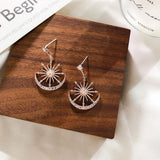 Trendy Solar Dangle Earrings - Prolyf Styles Trendy Solar Dangle Earrings, Earrings, Prolyf Styles, ProLyf Styles
