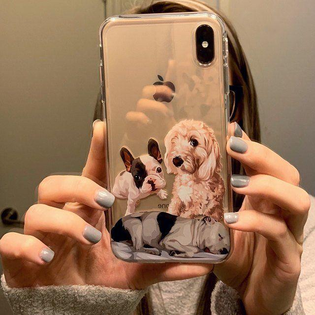 Custom dogs phone case