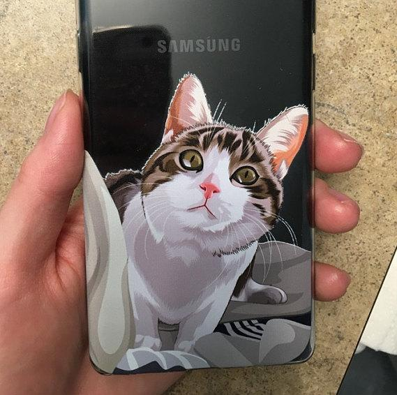 Custom cat phone case