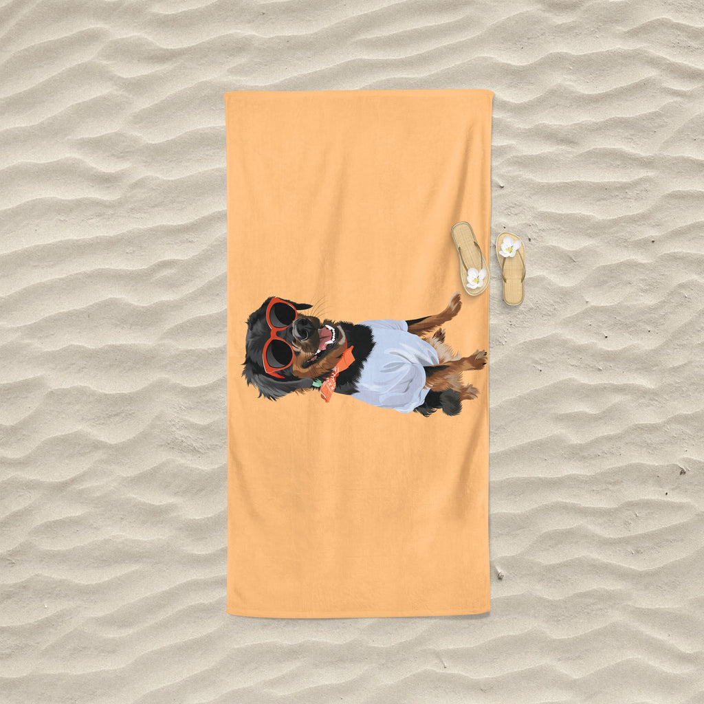 Custom Pet Beach Towel Home North Legends