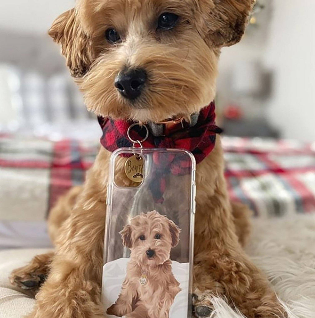 Custom dog phone case