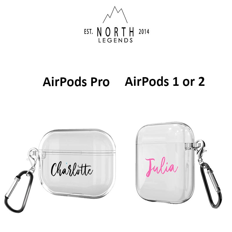 Personalized AirPods Case Home North Legends