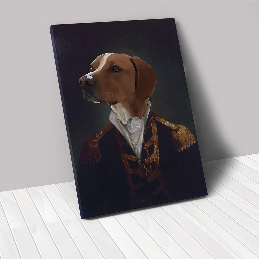 The Admiral - Custom Renaissance Pet Canvas renaissance North Legends