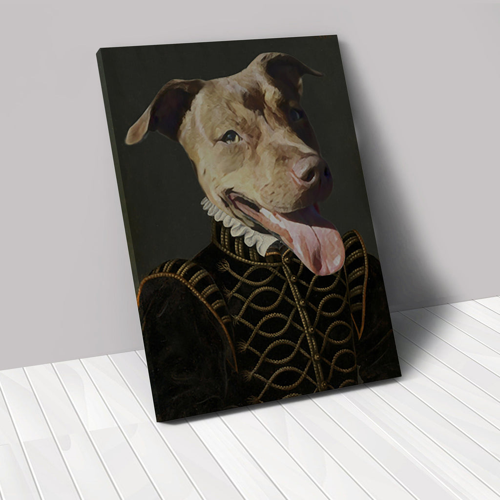 The Duke - Custom Renaissance Pet Canvas renaissance North Legends