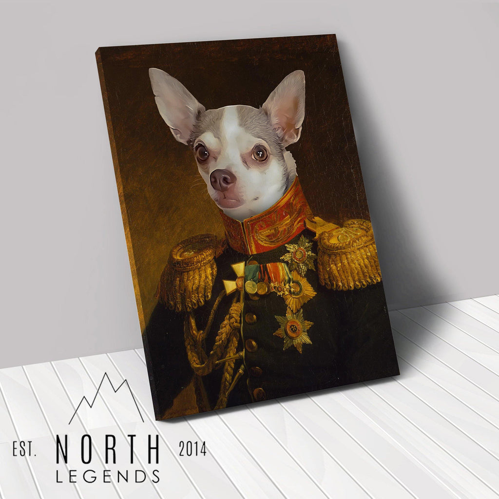 The General - Custom Renaissance Pet Canvas renaissance North Legends