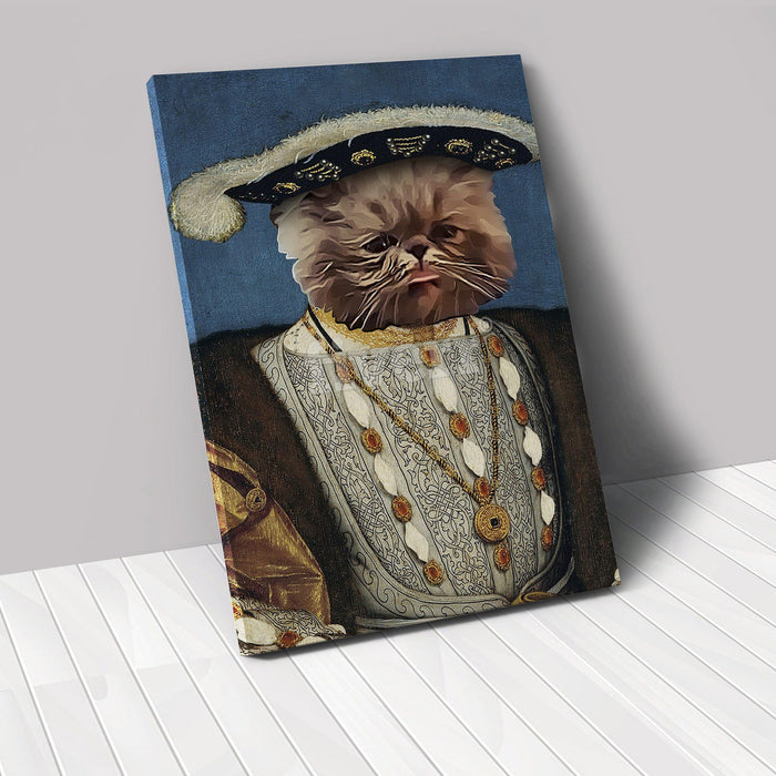 The Monarch - Custom Renaissance Pet Canvas renaissance North Legends