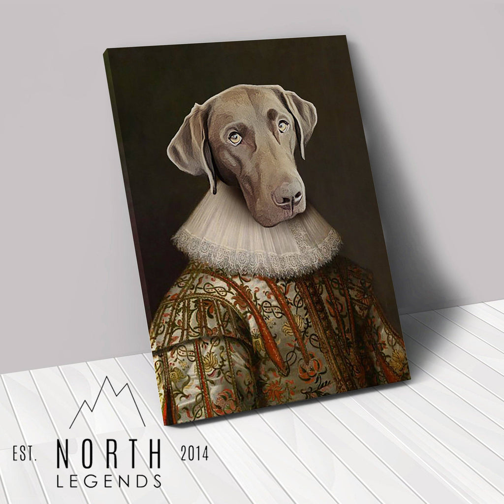 The Noble - Custom Renaissance Pet Canvas renaissance North Legends