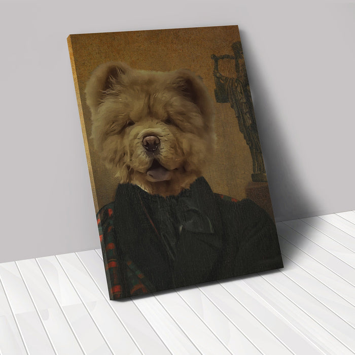 The Poet - Custom Renaissance Pet Canvas renaissance North Legends
