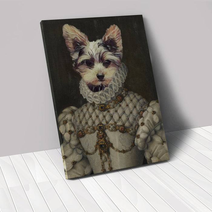 The Queen - Custom Renaissance Pet Canvas renaissance North Legends