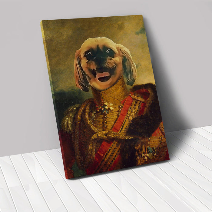 The Red Baron - Custom Renaissance Pet Canvas renaissance North Legends