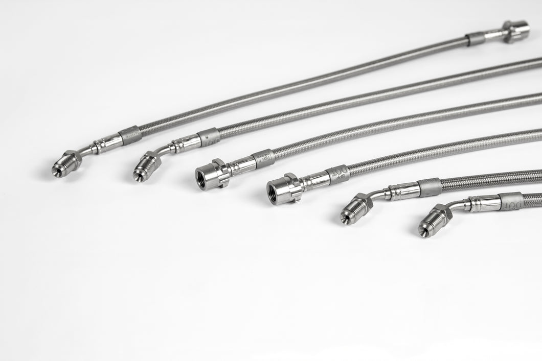Spiegler Stainless Brake lines Porsche 991GT3/RS 991 Turbo/S 981GT4 front and rear 6-line kit