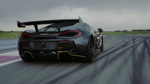 McLaren 570s GT4 Rear Wing Kit