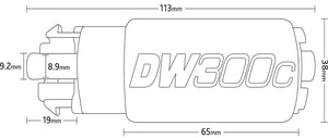 DW DW300C Fuel pumps with install kits (2 Required)
