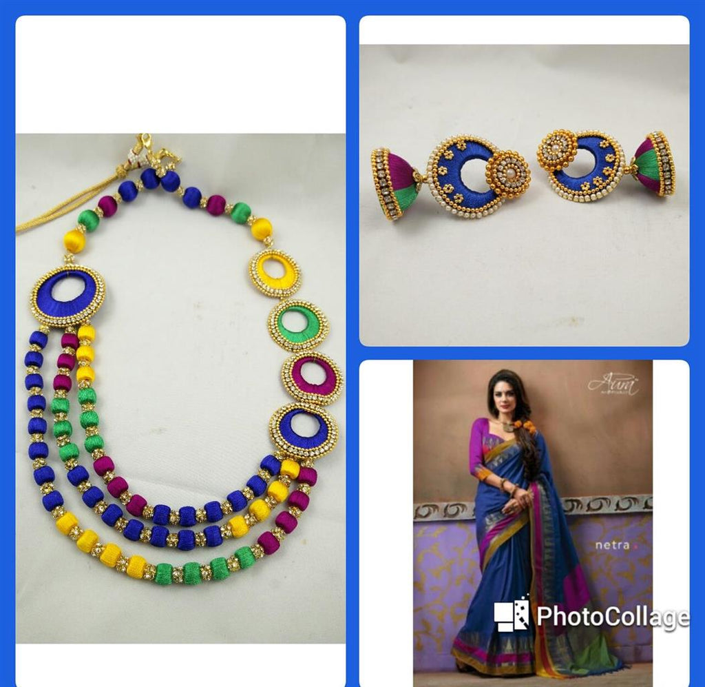 silk thread jewellery facebook