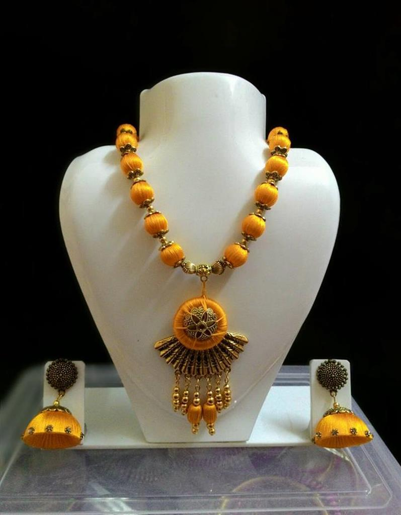silk thread jewellery online