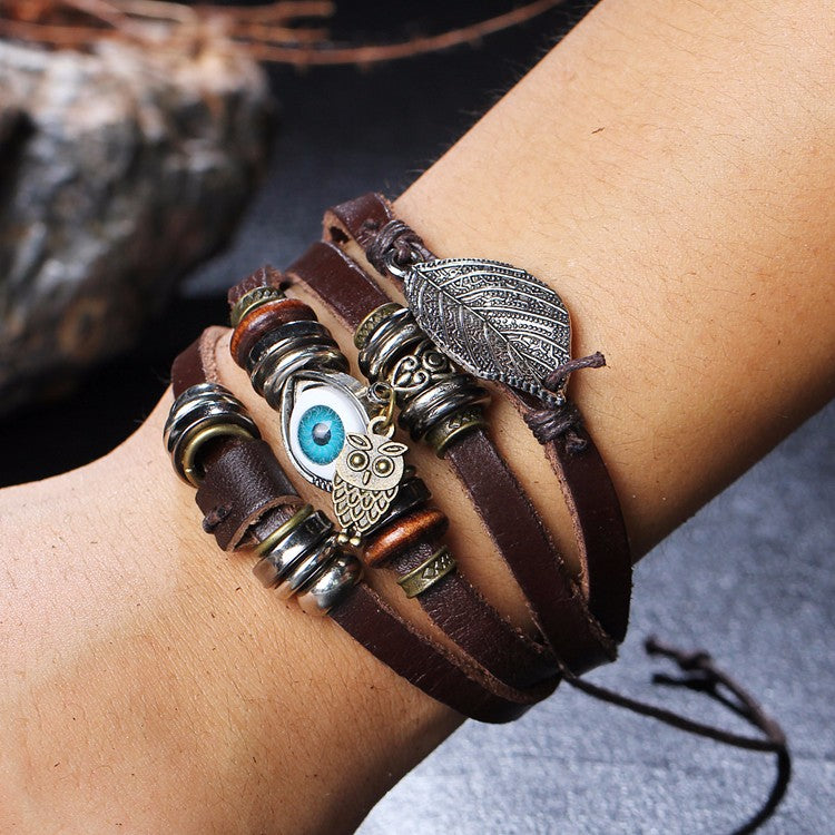 Shop for the unique leather bracelets for women in Bomosi store. A leading unique collection of leather bracelets