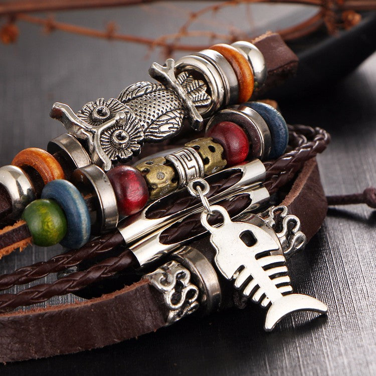 Shop your favorite leather bracelets for women from Bomosi the leading online seller of leather bracelets.