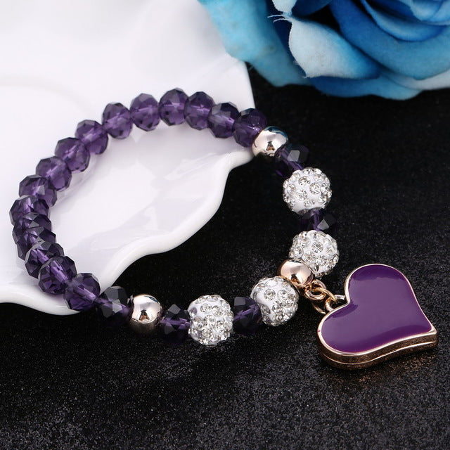 Handmade Shambhala Beads Bracelets For Women