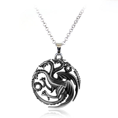 Mens necklaces lannister targaryen stark lion wolf dragon deer unique mens fashion jewelry with mens necklaces and mens pendants aloadofball Gallery