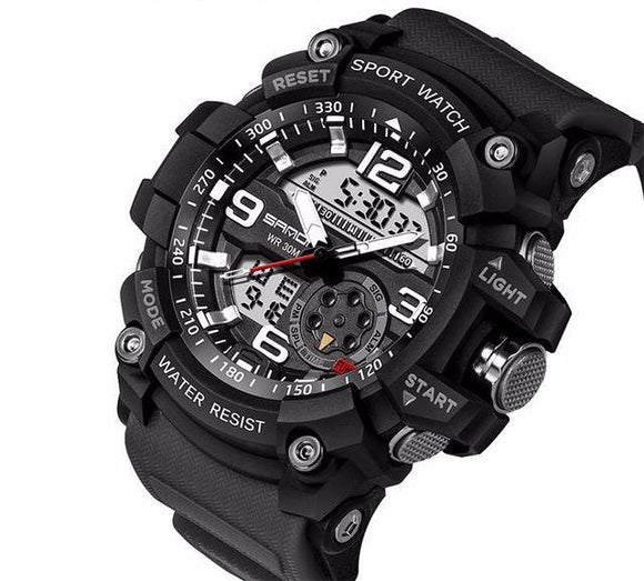 Luxury Electronic LED Digital Wrist Mens Watches