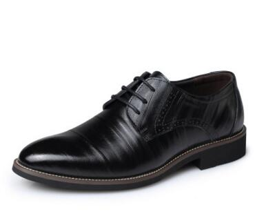 High Quality Leather Formal Shoes For Men Lace up Business Men's Shoes