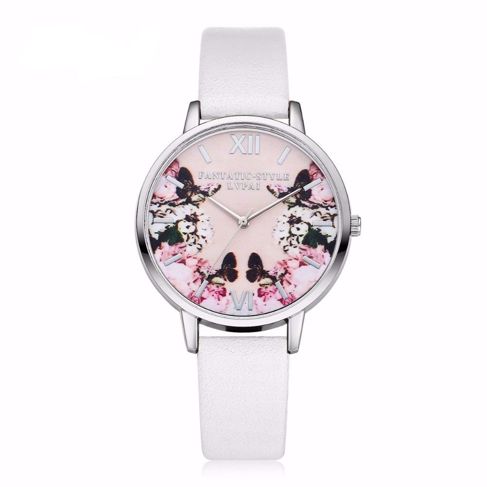 Luxury Leather Watches For Women Wristwatch Fashion Watches For ...