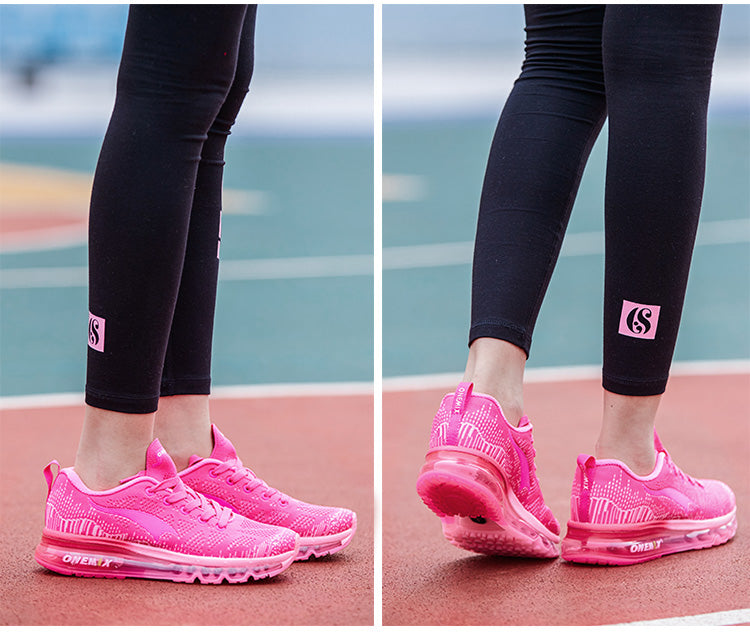 Breathable Air Cushion Running Shoes For Women Outdoor Sport Athletic Sneakers Girls Shoe