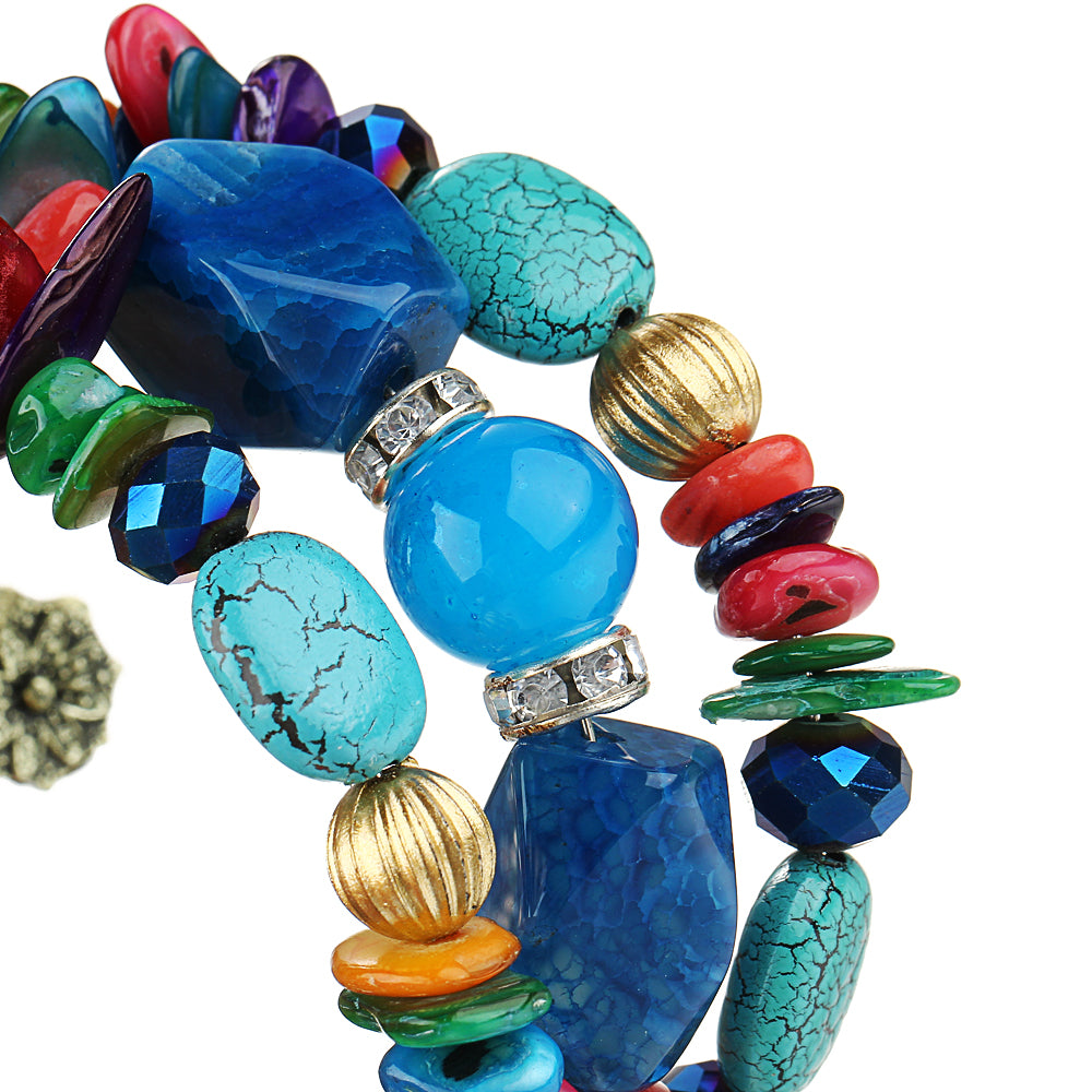 Blue bracelets for women