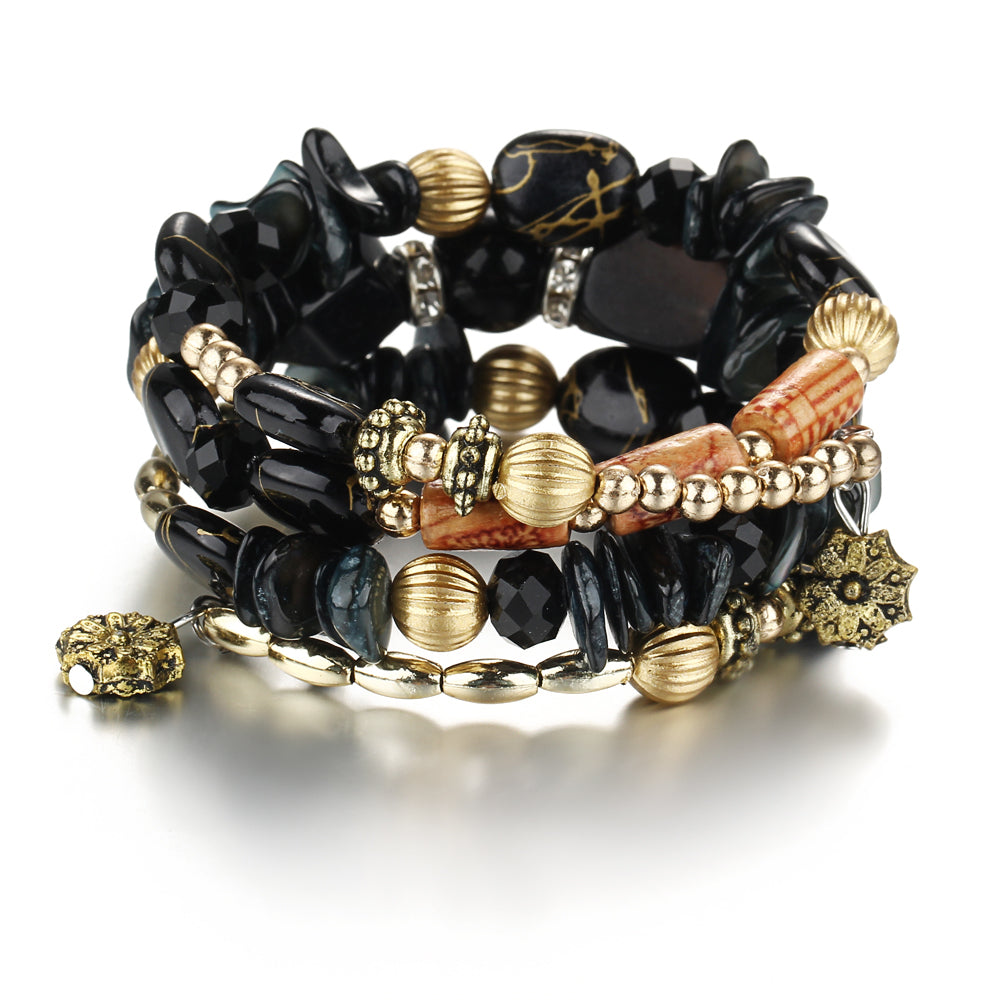 Black bracelets for women