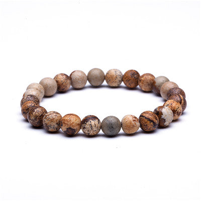 Natural Stone Beads Bracelets For Men and Women